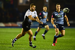 Tommaso Castello of Zebre Rugby Club in action  - Mandatory by-line: Craig Thomas/JMP - 04/11/2017 - RUGBY - BT Sport Cardiff Arms Park - Cardiff, Wales - Cardiff Blues v Zebre Rugby Club - Guinness Pro 14