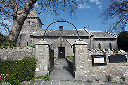 The Church where the grave of Benjamin Jesty lies, Worth Matravers, Dorset. During the 1774 Smallpox epidemic he inoculated his wife and sons with Cowpox. Acting on the folk tale that milkmaids who contracted Cowpox gained immunity to the more lethal human Smallpox virus, also an airborne transmitted disease like the current Coronavirus. UK April 2020
