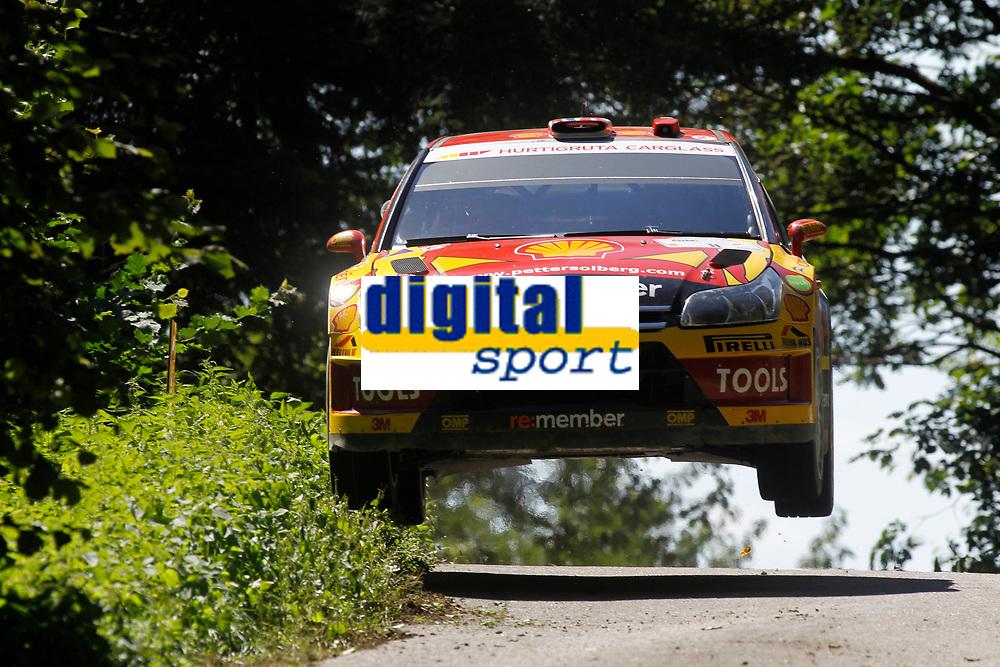 MOTORSPORT - WORLD RALLY CHAMPIONSHIP 2010 - ADAC DEUTSCHLAND RALLYE / RALLYE D'ALLEMAGNE - TRIER (GER) - 19 TO 22/08/2010 - PHOTO : FRANCOIS BAUDIN / DPPI - <br /> Petter SOLBERG (NOR) / Chris PATTERSON (GBR) - PETTER SOLBERG WORLD RALLY TEAM - CITROEN C4 WRC - Action
