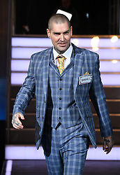 Shane Lynch entering the Celebrity Big Brother House 2018, Elstree Studios, Hertfordshire. Photo credit should read: Doug Peters/EMPICS Entertainment