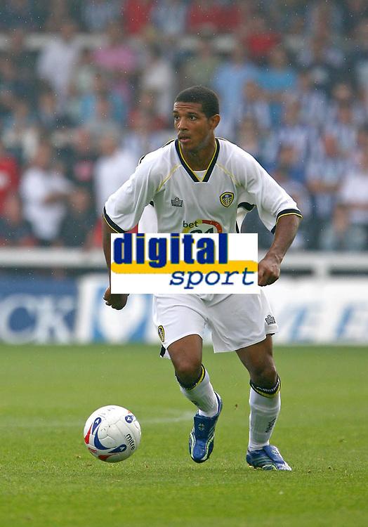 Photo: Andrew Unwin.<br />Hartlepool United v Leeds United. Pre Season Friendly. 22/07/2006.<br />Leeds' Jermaine Beckford.