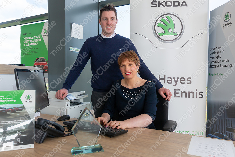 Finance Team Ronan Hayes and Orla O'Brien of Al Hayes Motors