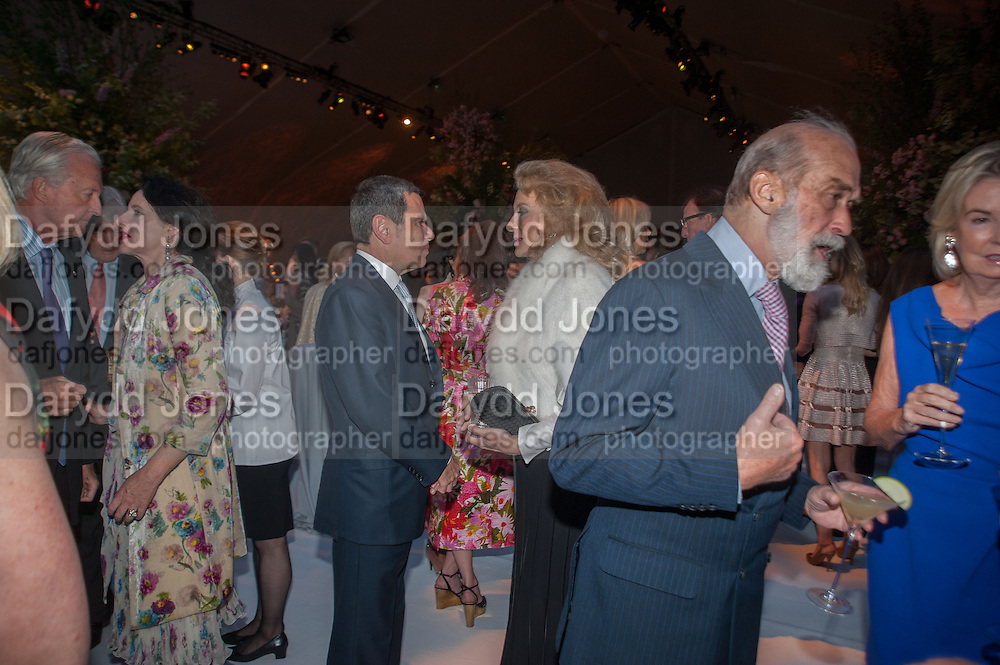 PRINCESS MICHAEL OF KENT; PRINCE MICHAEL OF KENT, CARTIER CHELSEA FLOWER SHOW DINNER Dinner hosted by Cartier in celebration of the Chelsea Flower Show was held at Battersea Power Station. 22 May 2012