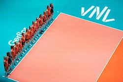 29-05-2019 NED: Volleyball Nations League Netherlands - Bulgaria, Apeldoorn<br /> Team Netherlands