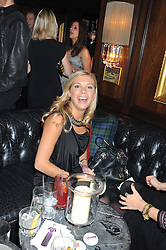 CHELSY DAVY at the launch of Beulah's collaboration with Hennessy Gold Cup and a preview of the SS13 Collection held at The Brompton Club, 92b Old Brompton Road, London SW7 on 18th October 2012.