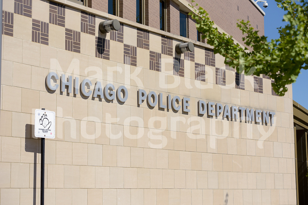 Chicago Police Department District 12 building in Chicago on Wednesday, Aug. 19, 2020.  Photo by Mark Black