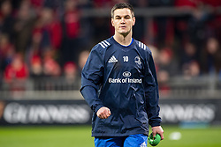December 30, 2018 - Limerick, Ireland - Johnny Sexton of Leinster during the Guinness PRO14 match between Munster Rugby and Leinster Rugby at Thomond Park in Limerick, Ireland on December 29, 2018  (Credit Image: © Andrew Surma/NurPhoto via ZUMA Press)