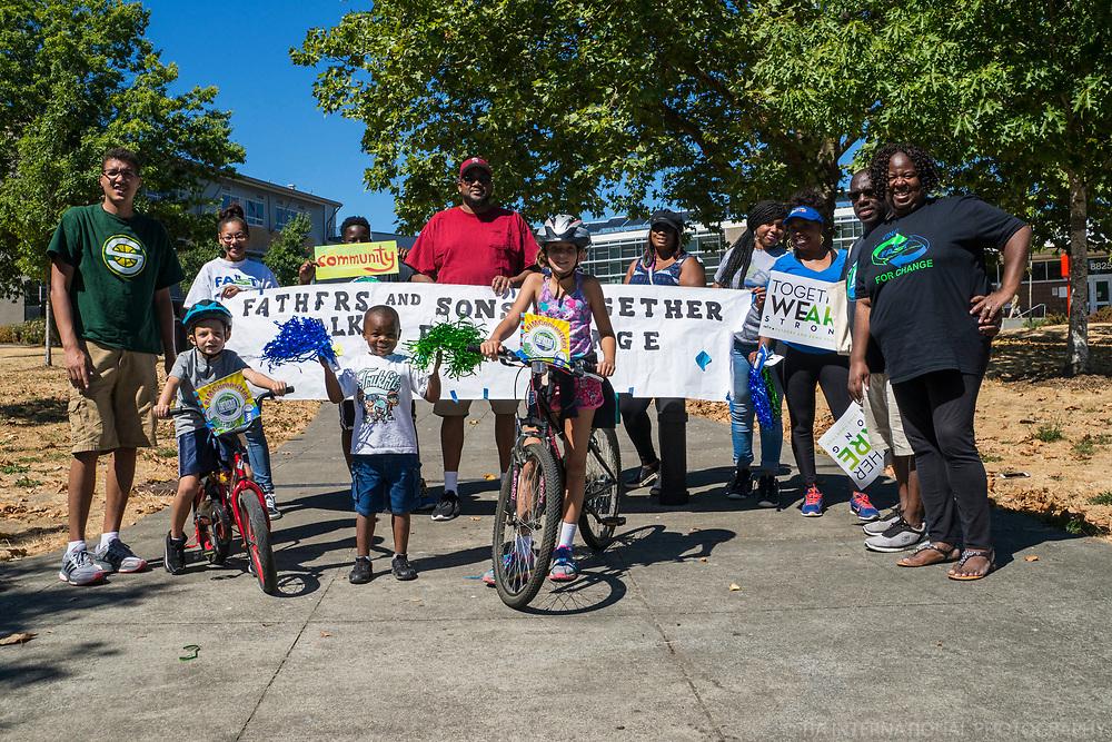 Walk for Change Event, Rainier Beach Community Center