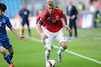Fotball <br /> UEFA Euro 2016 Qualifying Competition<br /> 12.06.2015<br /> Norge v Aserbajdsjan / Norway v Aserbajdsjan 0:0<br /> Foto: Morten Olsen/Digitalsport<br /> <br /> Per Ciljan Skjelbred - NOR