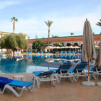 North Africa, Morocco, Marrakesh. Royal Mirage Hotel
