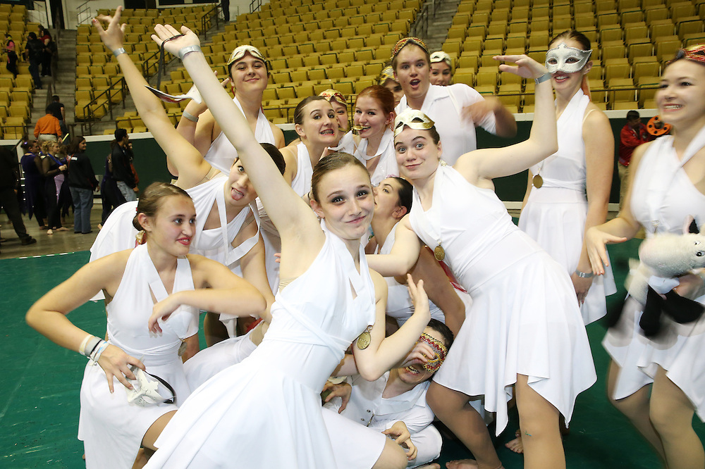 """Mandeville High School 2013 winterguard and their show """"Love at the Masquerade"""" at the LCGPC circuit Championships at Southeastern Louisiana University.<br /> photos by: Crystal LoGiudice Photography<br /> 2032 Jefferson Street<br /> Mandeville, LA 70448<br /> www.clphotosonline.com<br /> crystallog@gmail.com<br /> 985-377-5086"""