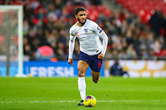 England defender Joe Gomez on the ball during the UEFA European 2020 Qualifier match between England and Montenegro at Wembley Stadium, London, England on 14 November 2019.