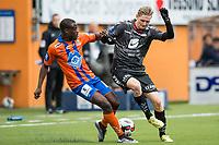 Fotball , 3 April 2016 , Tippeligaen , Eliteserien , Aalesund - Brann , Erik Huseklepp , Edwin Oppong Anane-Gyasi<br /> <br /> Foto: Marius Simensen, Digitalsport