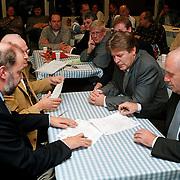 Contract ondertekening SV Huizen en Transmere Transport
