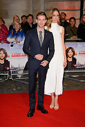 November 3, 2016 - London, United Kingdom - Image ©Licensed to i-Images Picture Agency. 03/11/2016. London, United Kingdom. Luke Treadaway and Ruta Gedmintas attend the World Premiere of A Street Cat Named Bob. Picture by Chris Joseph / i-Images (Credit Image: © Chris Joseph/i-Images via ZUMA Wire)