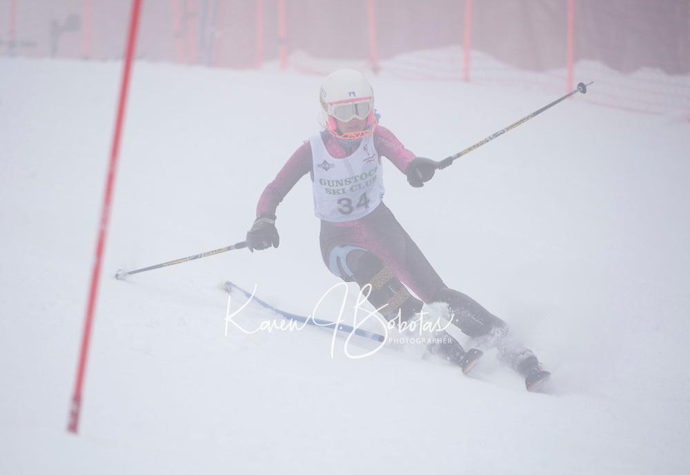 Lafoley Slalom at Gunstock 1st run ladies and men  March 5, 2011.