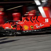 19.02.2020, Circuit de Catalunya, Barcelona, Formel 1 Testfahrten 2020 in Barcelona<br /> , im Bild<br />Charles Leclerc (MCO#16), Scuderia Ferrari Mission Winnow<br /> <br /> Foto © nordphoto / Bratic