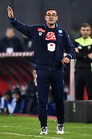 Maurizio Sarri Napoli <br /> Napoli 30-11-2015 Stadio San Paolo Football Calcio 2015/2016 Serie A Napoli - Inter Foto Andrea Staccioli / Insidefoto