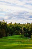 18-09-2015: Golf & Spa Resort Konopiste in Benesov, Tsjechië.<br /> Foto: Diep verstopte teeboxen in de bosrand