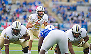 Dec 1, 2012; Tulsa, Ok, USA; University of Central Florida Knights quarterback Blake Bortles (8) waits for the ball during a game against the Tulsa Hurricanes at Skelly Field at H.A. Chapman Stadium. Tulsa defeated UCF 33-27 in overtime to win the CUSA Championship. Mandatory Credit: Beth Hall-USA TODAY Sports
