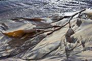 Kelp patterns, Pfeiffer Creek, Pfeiffer Big Sur, Big Sur, California