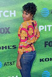 September 13, 2016 - Los Angeles, Kalifornien, USA - Gabrielle Dennis bei der Premiere der FOX TV-Serie 'Pitch' auf dem West LA Little League Field. Los Angeles, 13.09.2016 (Credit Image: © Future-Image via ZUMA Press)