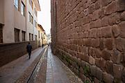 Inca stone walls,Cusco, Urubamba Province, Peru
