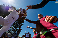 Members of the Colgate community attend homecoming football against Lehigh University October 7, 2019.