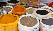 Spices on an Indian marked in Assam.