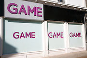 Outside of Game shop an example of a high specialist shop
