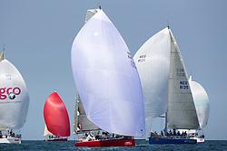 First day of the Delta Lloyd North Sea Regatta, Scheveningen, the Netherlands, Friday, 6th June 2014.