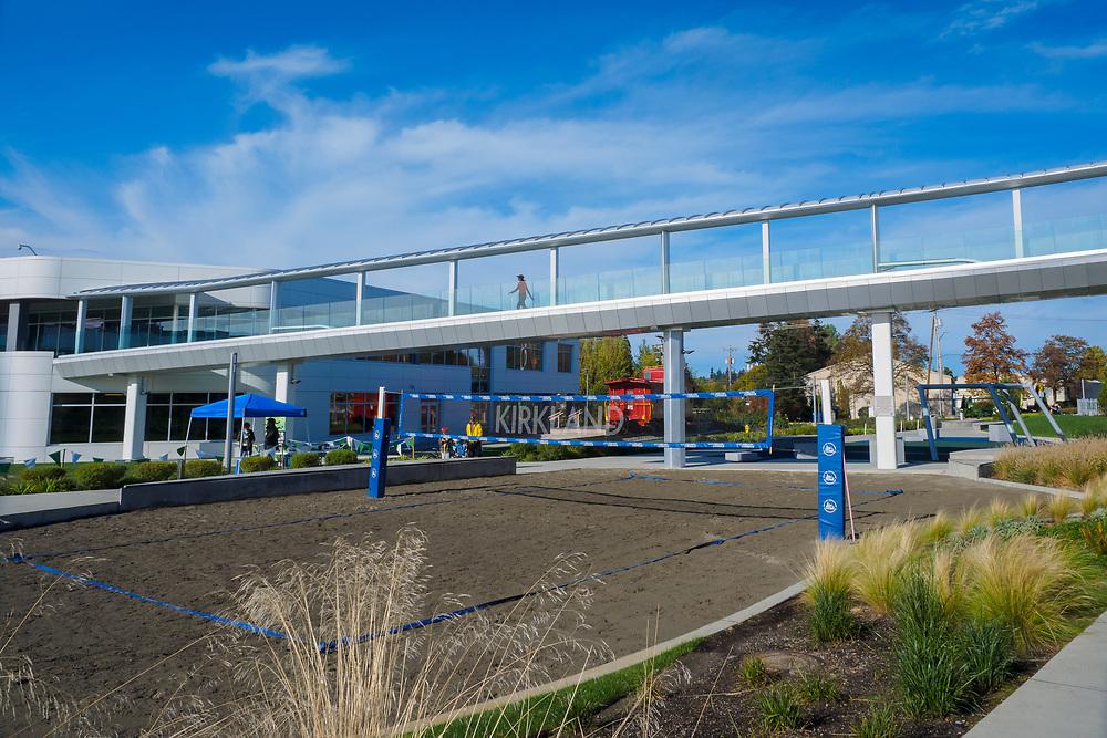 United States, Washington, Kirkland. October 22, 2016. Google Corporate Campus