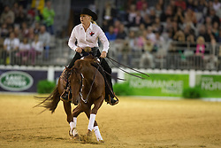 Lisa Coulter, (CAN), A Smokin Whiz - Team Competition and 1st individual qualifying  - Alltech FEI World Equestrian Games™ 2014 - Normandy, France.<br /> © Hippo Foto Team - Dirk Caremans<br /> 25/06/14