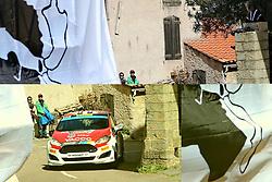 April 7, 2018 - Corse, France - CORSICA Linea - TOUR DE CORSE 2018 Jean Baptiste FRANCESCHI, Romain COURBON FORD FIESTA R2 (Credit Image: © Panoramic via ZUMA Press)