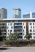 new housing project in centre Tel Aviv, Israel. On Jaffa road near Allenby street