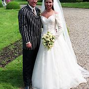 NLD/Haarzuilens/19940517 - Huwelijk Rob Witschge en Barbara van den Boogaard in kasteel Haarzuilen