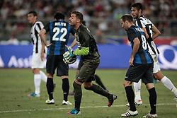 Bari (BA) 21.07.2012 - Trofeo Tim 2012. Inter - Juventus. Nella Foto: Storari (J) e Milito (I)