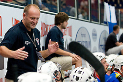 Head Coach of Slovenia Rok Rojsek at Game 1 of IIHF In-Line Hockey World Championships Top Division Group match between National teams of Finland and Slovenia on June 28, 2010, in Karlstad, Sweden. (Photo by Matic Klansek Velej / Sportida)