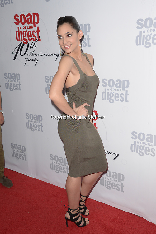 CAMILA BANUS at Soap Opera Digest's 40th Anniversary party at The Argyle Hollywood in Los Angeles, California