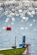 Eton Dorney, Windsor, Great Britain,<br /> <br /> 2012 London Olympic Regatta, Dorney Lake. Eton Rowing Centre, Berkshire[ Rowing].<br /> <br /> Description; Women's pair Repechage General views   Dorney Lake. 09:28:58  Monday  30/07/2012 [Mandatory Credit: Peter Spurrier/Intersport Images]