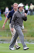 27-07-11: Taoiseach Enda Kenny   with Rory McIlroy during the Irish Open Pro Am at Killarney Golf and Fishing Club on Wednesday. Picture: Eamonn Keogh (MacMonagle, Killarney)..