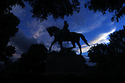 The Robert E. Lee Statue located at Emancipation Park in Charlottesville, Va. Photo/Andrew Shurtleff Photography, LLC