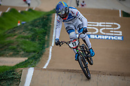 #12 (BENSINK Niels) NED at Round 2 of the 2020 UCI BMX Supercross World Cup in Shepparton, Australia.
