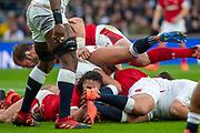 Twickenham, England, 7th March 2020, Josh NAVIDI, during the Guinness Six Nations, International Rugby, England vs Wales, RFU Stadium, United Kingdom, [Mandatory Credit; Peter SPURRIER/Intersport Images]