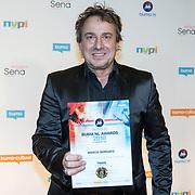 NLD/Utrecht/20181001 - Buma NL Awards 2018, Marco Borsato krijgt de award voor Meest succesvolle single - Populair