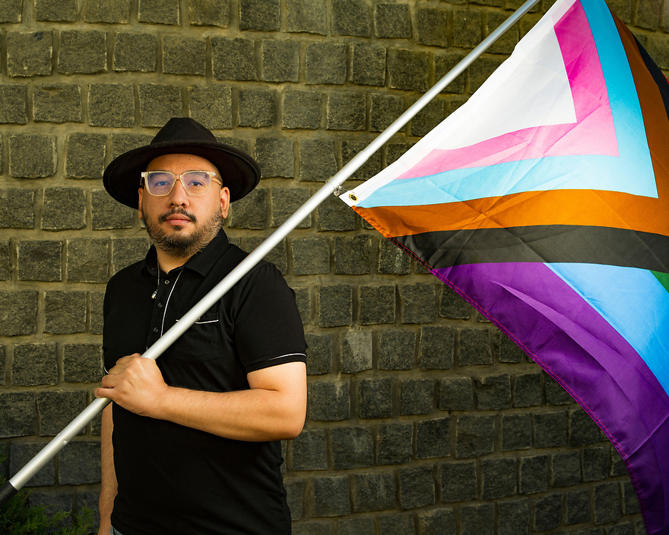 """Jacob Agamao (any pronouns)<br /> <br /> """"The greatest joy in my queer life is building community,"""" said Agaman, who is the LGBTQ+ services coordinator at The Epicenter, a drop-in resource center for youth in Monterey County, California. """"Every event that mobilizes a sense of belonging for the most disenfranchised and marginalized people in our community makes every effort worth it.""""<br /> <br /> Agamao identifies as queer nonbinary, asexual and aromantic."""