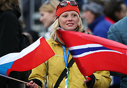 Fan of Poland and Norway at e.on Ruhrgas FIS World Cup Ski Jumping on K215 ski flying hill, on March 14, 2008 in Planica, Slovenia . (Photo by Vid Ponikvar / Sportal Images)./ Sportida)