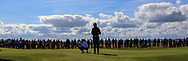 Sandy Scott (GB&I) and Euan Walker (GB&I) on the 17th during Day 2 Foursomes of the Walker Cup, Royal Liverpool Golf CLub, Hoylake, Cheshire, England. 08/09/2019.<br /> Picture Thos Caffrey / Golffile.ie<br /> <br /> All photo usage must carry mandatory copyright credit (© Golffile   Thos Caffrey)