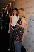 Ines Sastre and Lady Helen Taylor, Lancome Colour Design Awards, Ex-Saatchi gallery, 17 November 2004. ONE TIME USE ONLY - DO NOT ARCHIVE  © Copyright Photograph by Dafydd Jones 66 Stockwell Park Rd. London SW9 0DA Tel 020 7733 0108 www.dafjones.com