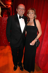 City millionaire MICHAEL SPENCER and his wife LORRAINE at a dinner held at the Natural History Museum to celebrate the re-opening of their store at 175-177 New Bond Street, London on 17th October 2007.<br /><br />NON EXCLUSIVE - WORLD RIGHTS